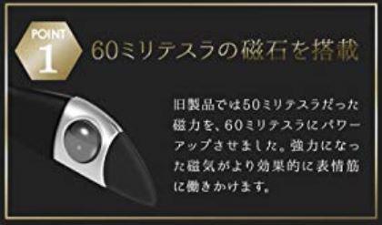 60ミリテスラの磁石